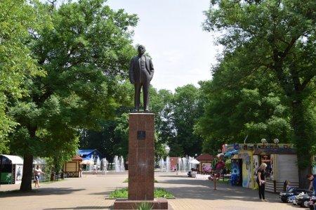 Памятник В.И.Ленину в Белореченске