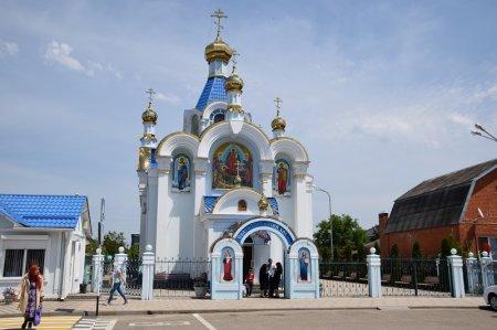 Свято-Успенский храм в Белореченске