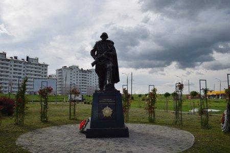 Памятник советскому солдату-победителю в Крымске
