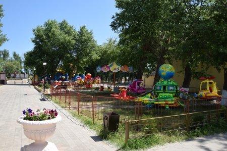 Детские атракционы в Кучугурах